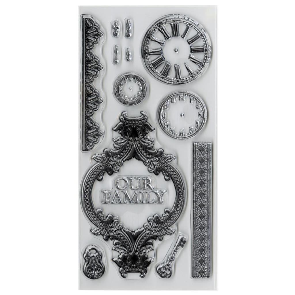 """Kaisercraft- Clear Stamps 8.25""""X4"""" - Duchess DS209"""