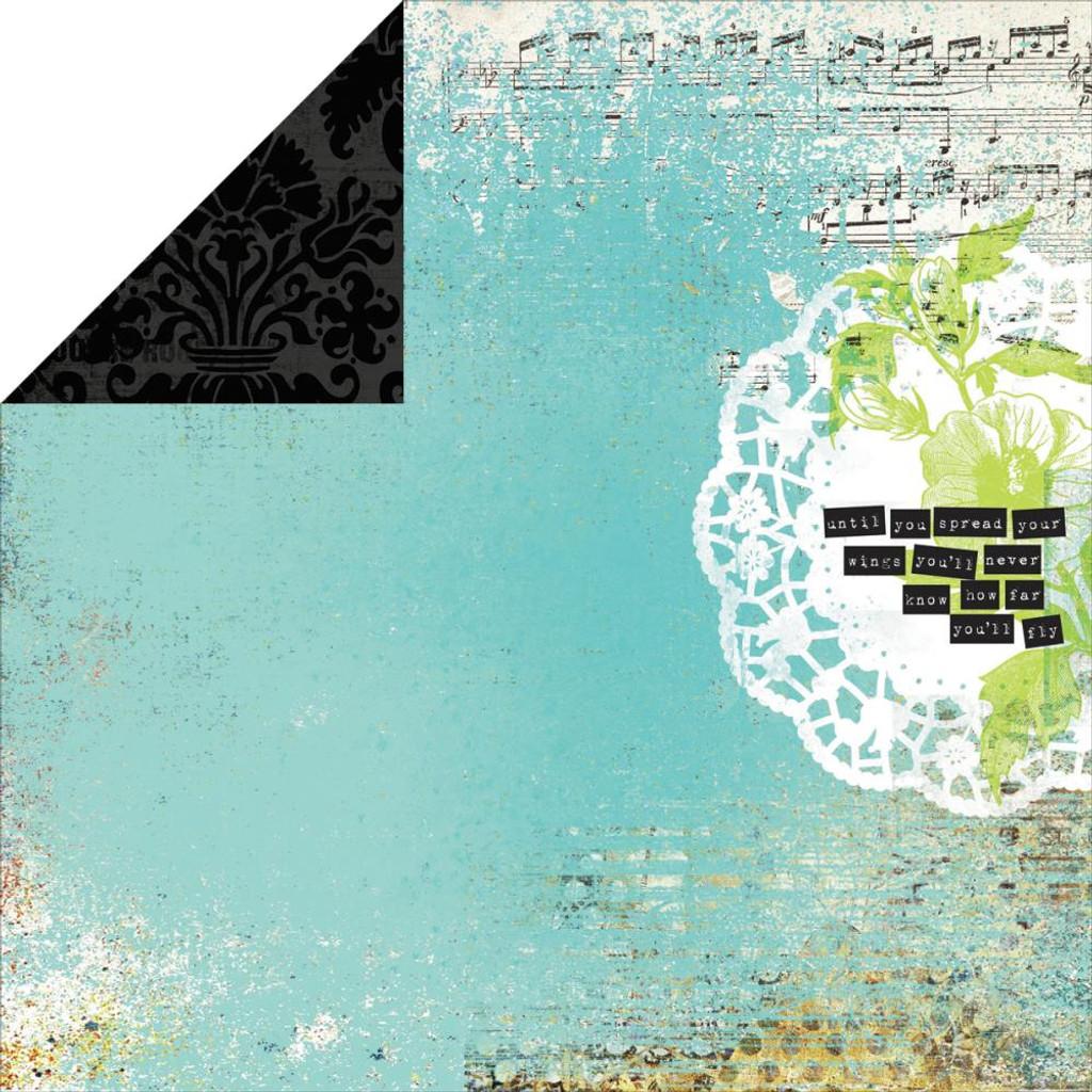 "Kaisercraft - Double-Sided scrapbooking paper 12""X12"" - Kaleidoscope - Mosaic P1465"