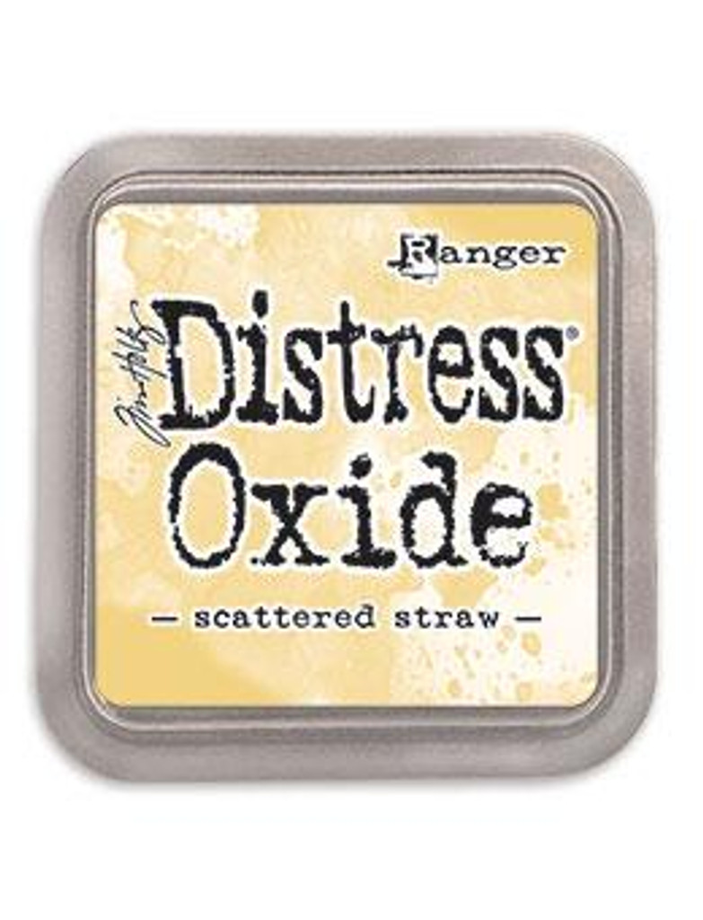 Tim Holtz Ranger - Distress Oxide Ink Pad Release #5 - Scattered Straw TDO 56188