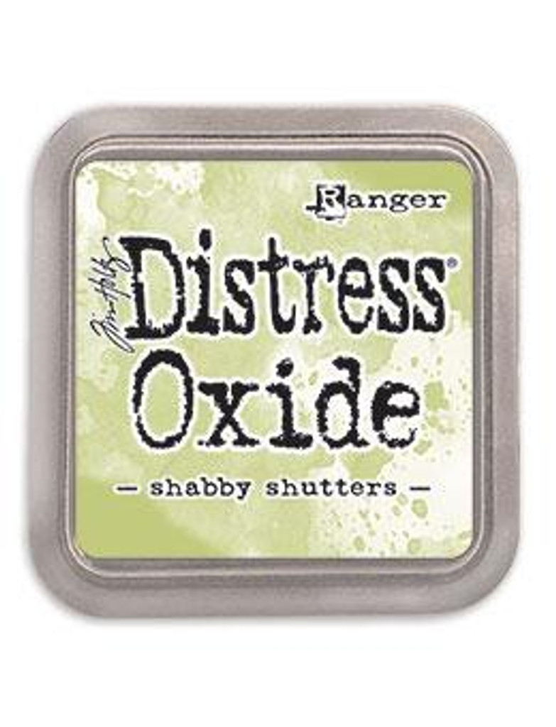 Tim Holtz Ranger - Distress Oxide Ink Pad Release #5 - Shabby Shutters TDO 56201