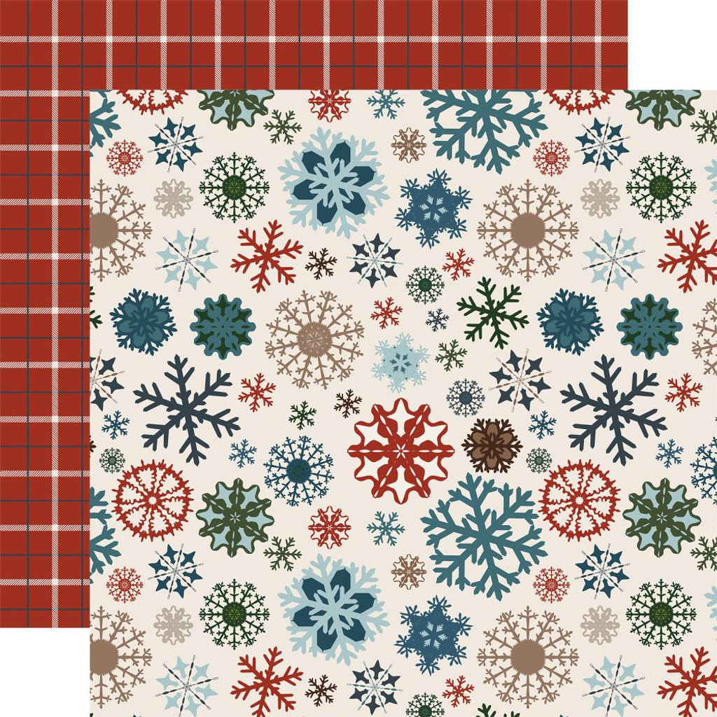 """Carta Bella - Collection Kit 12""""X12"""" - Let It Snow IS92016"""
