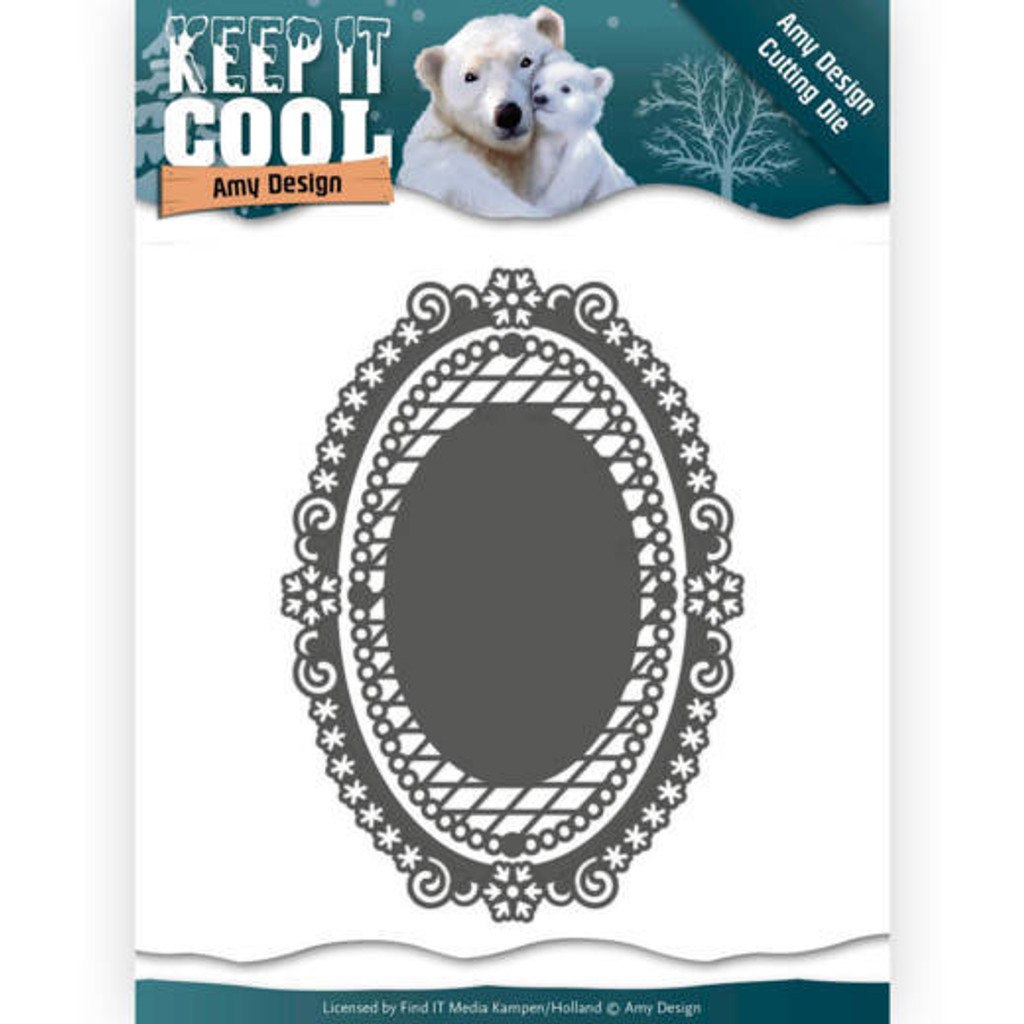 Find It Trading - Amy Design - Keep it Cool - Keep It Oval Die ADD10161