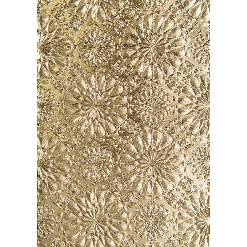 Sizzix 3D Texture Fades Embossing Folder By Tim Holtz - Kaleidoscope (663296)