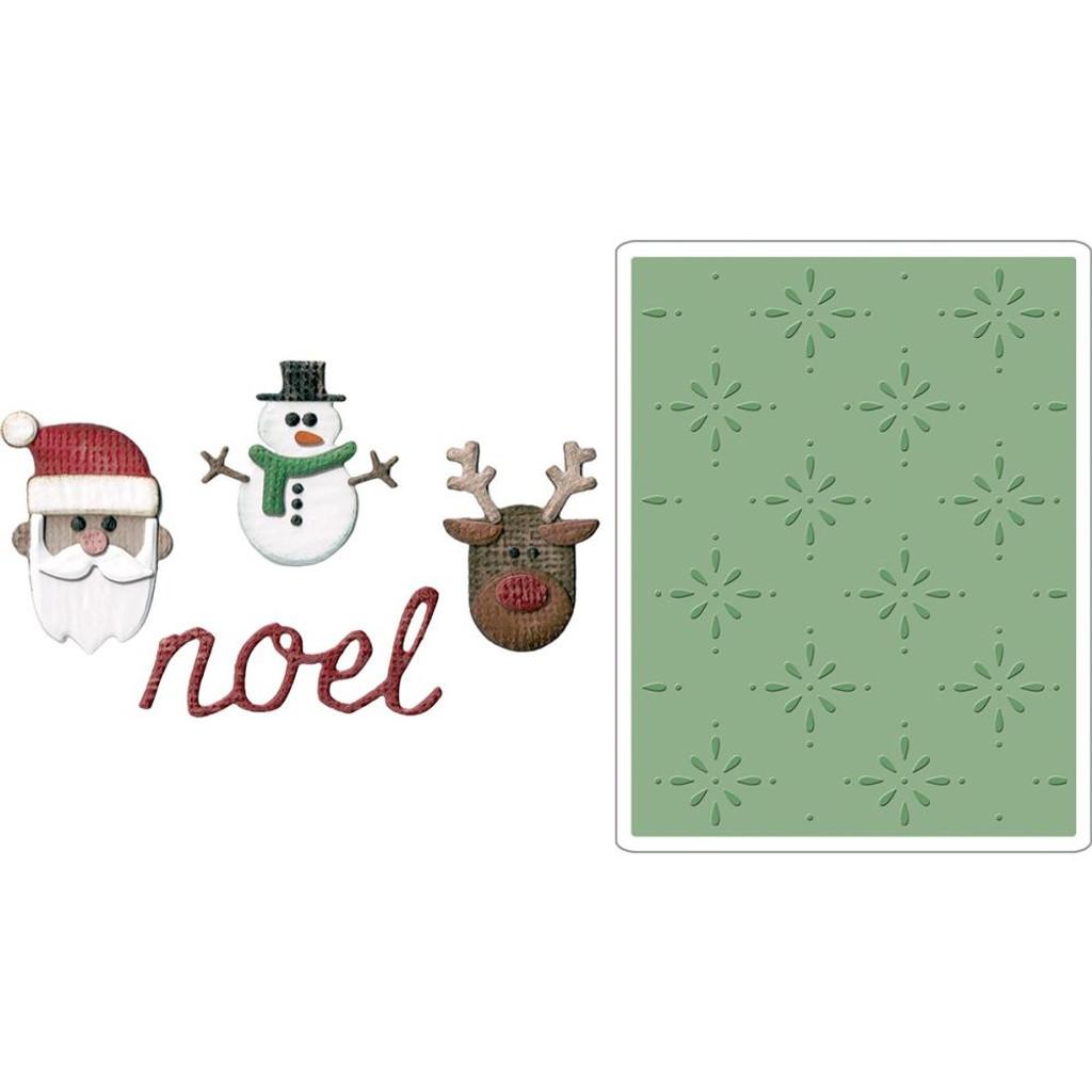 Sizzix - Tim Holtz - Sidekick Side-Order Set - Christmas