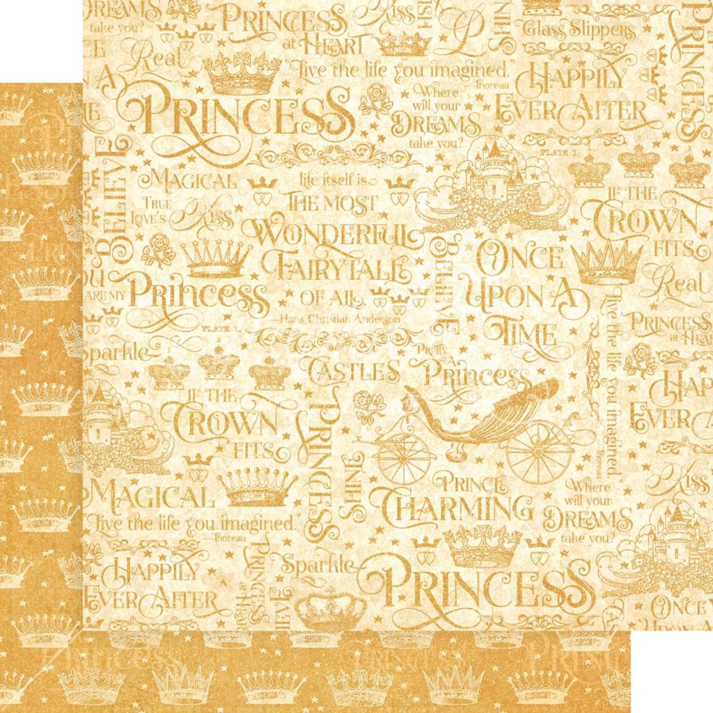 """Graphic 45 - Collection Pack 12""""X12"""" - Princess"""