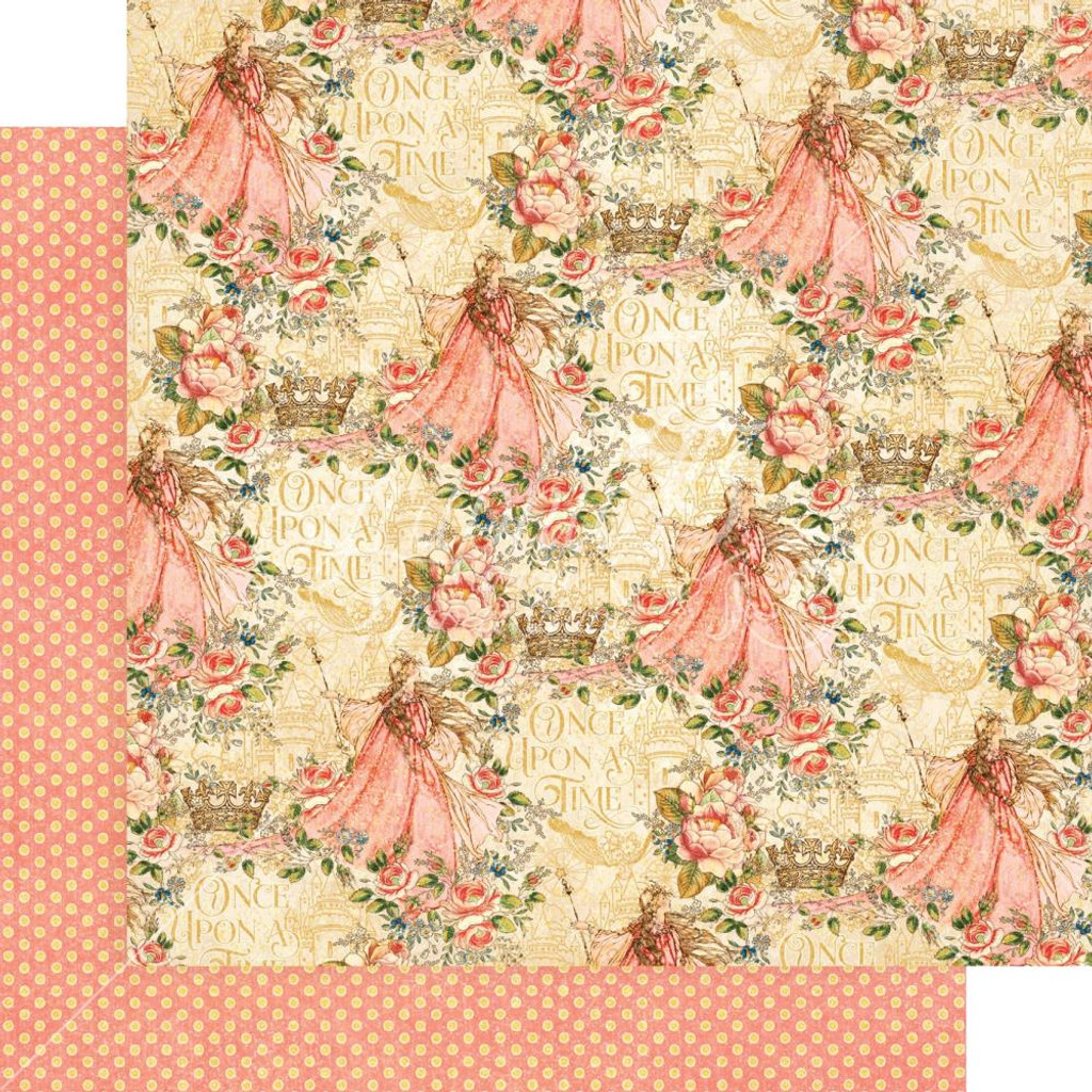 """Graphic 45 - 12""""X12"""" Cardstock - Belle of the Ball (4501792)"""