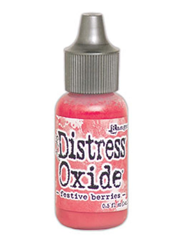 Tim Holtz Ranger - Full Set Distress Oxide Reinkers Release #5 - 12 colors - Festive Berries