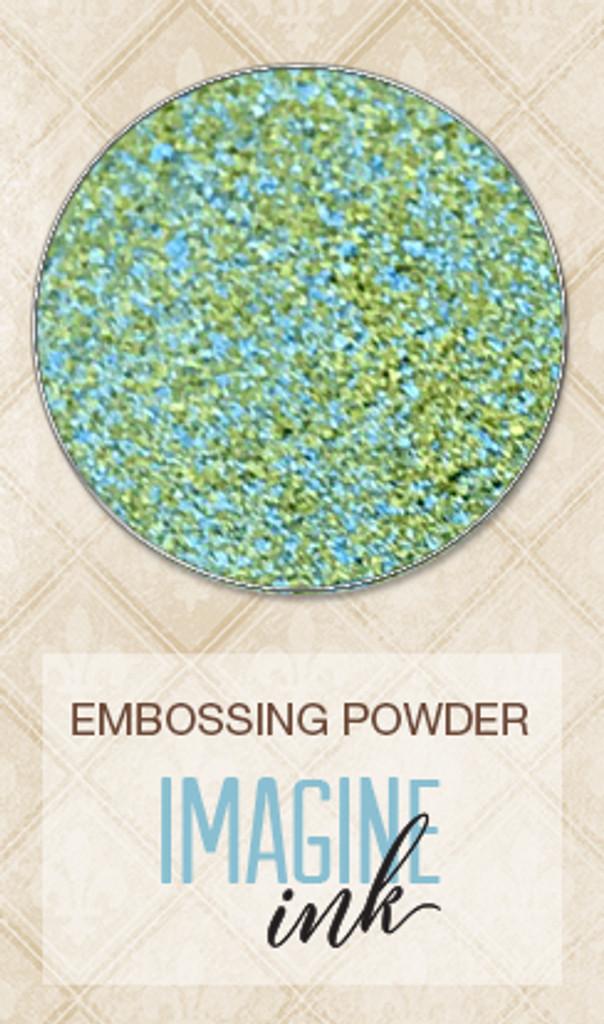 Blue Fern Studios - Embossing Powder - Heartland Collection - Seafoam (810688)