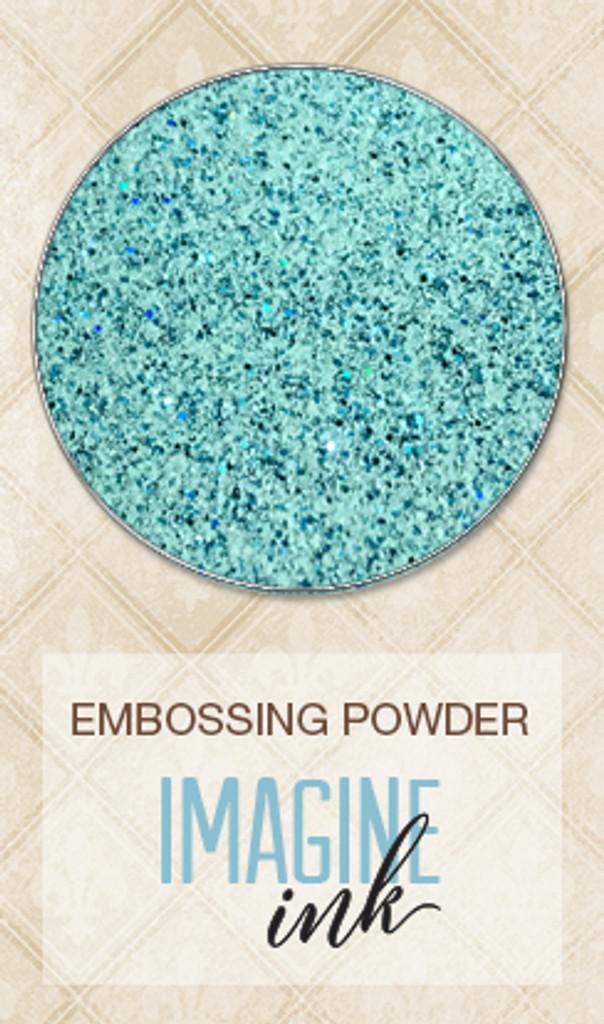 Blue Fern Studios Imagine Ink - Embossing Powder - Speckled Mint 817380