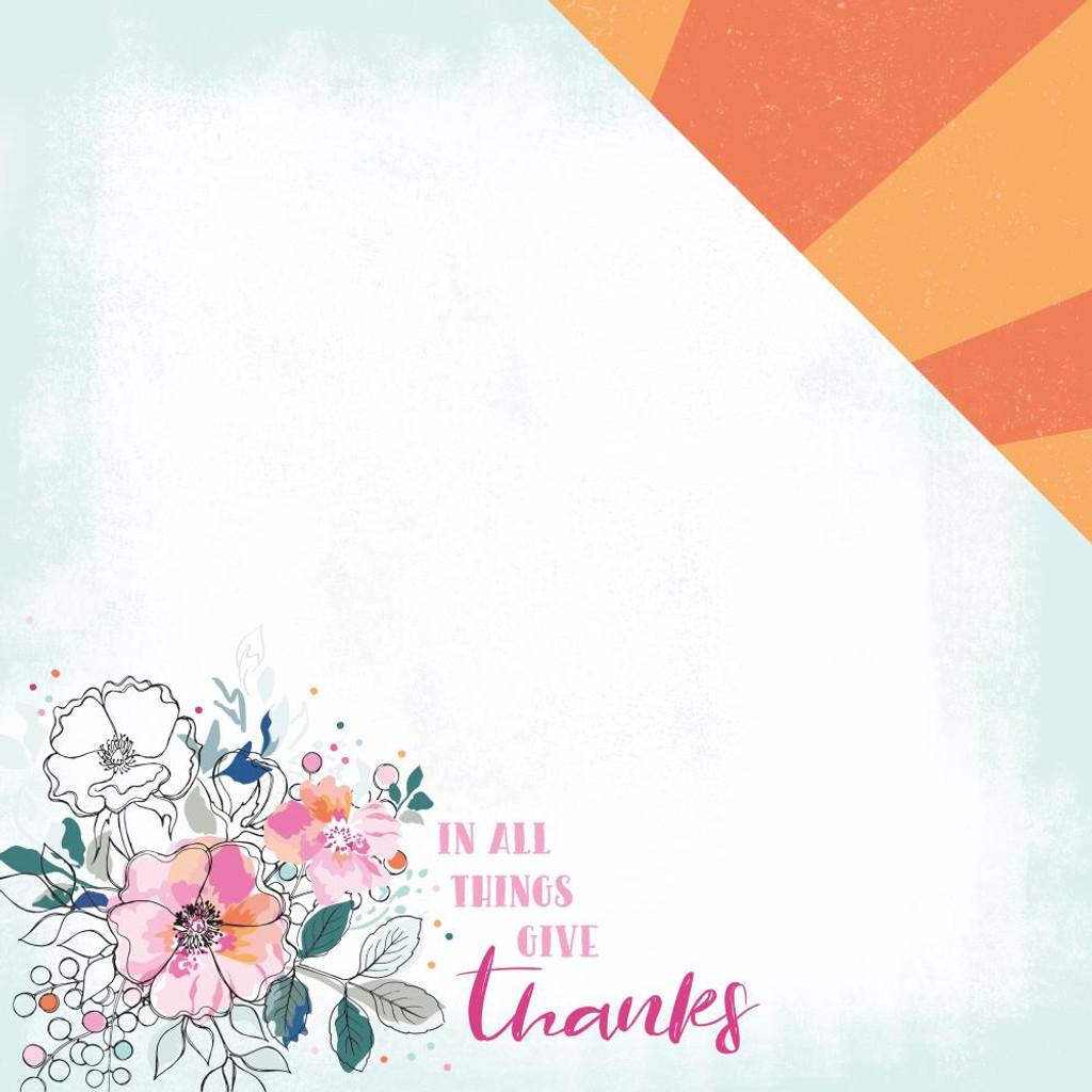 Kaisercraft - 12x12 Paper Pack - Blessed (PK596)
