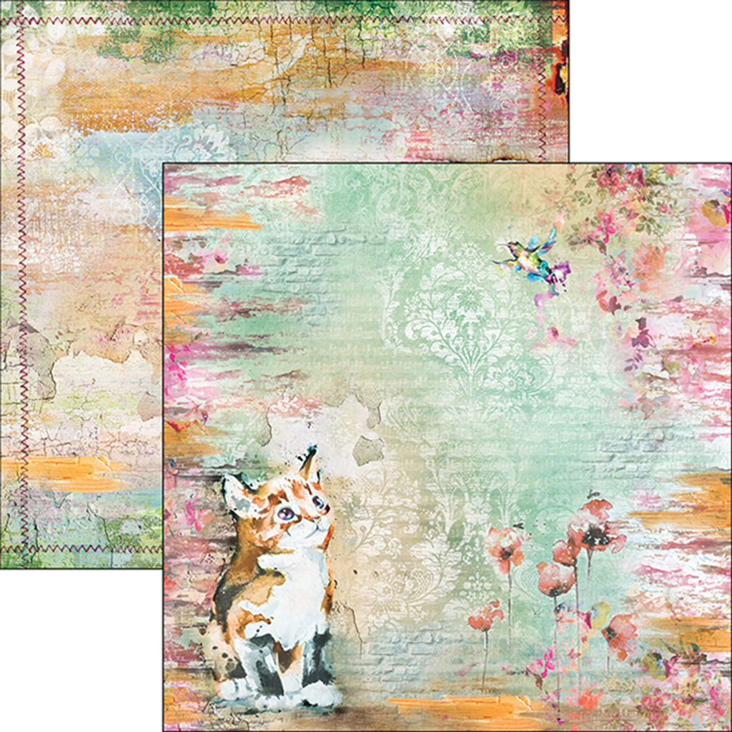 """Ciao Bella - 12""""X12"""" Double-Sided Paper Collection - Sound Of Spring (CBPM011)"""