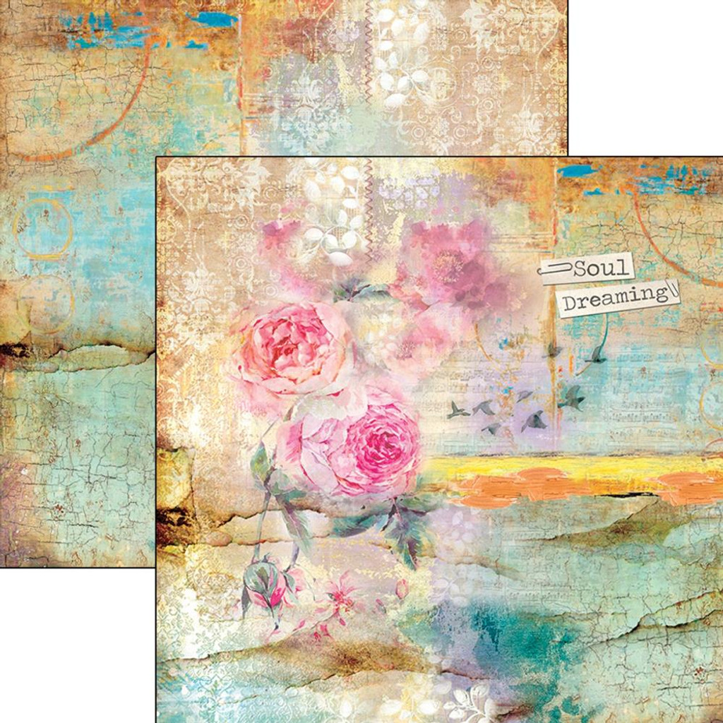 """Ciao Bella - 12""""X12"""" Double-Sided Cardstock - Sound Of Spring - Spring Calling (CBSS036)"""