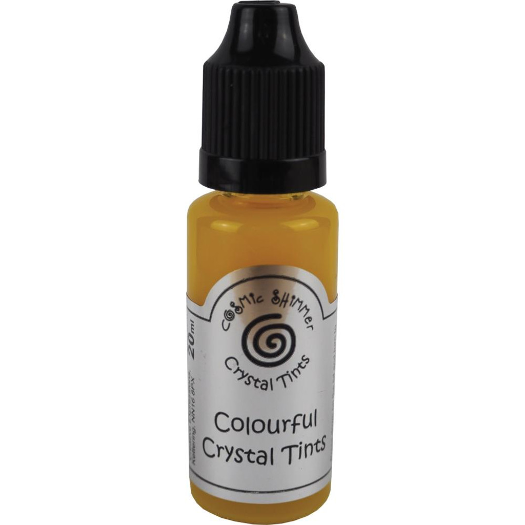 Creative Expressions Cosmic Shimmer - Crystal Tints 20ml - Yellow Citrine (CSCT - CITRI)