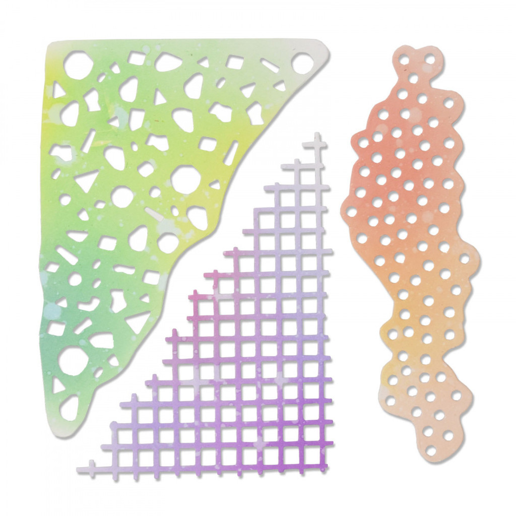 Sizzix - Sophie Guilar - Thinlits Die 5PK - Geometric Mask (663361)