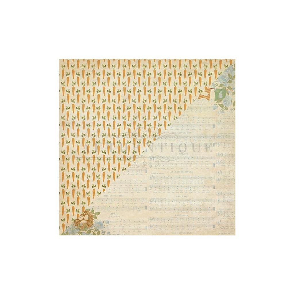 """Authentique - Collection Kit 12""""X12"""" - Abundant"""
