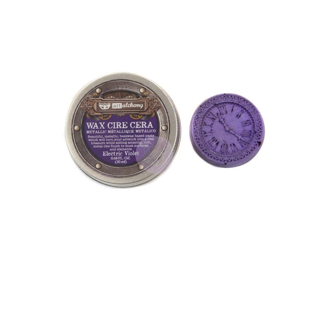 Prima Finnabair Art Alchemy - Metallique Wax - Electric Violet (966782)