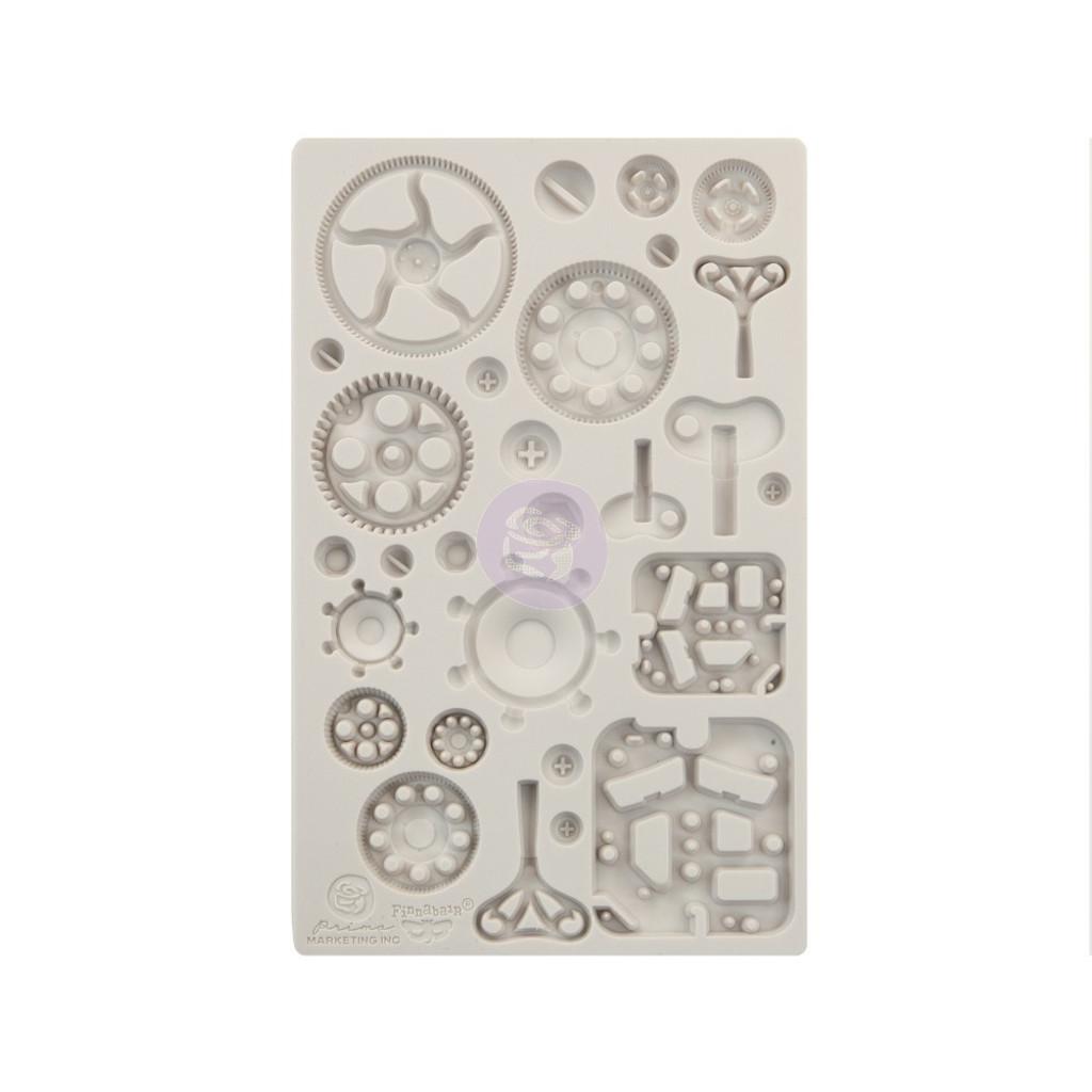 Prima Re-Design Iron Orchid Art Decor Moulds - Mechanica (0966621)