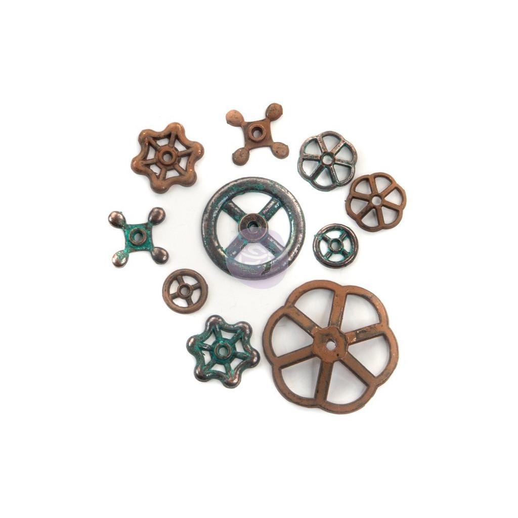 Prima - Finnabair Mechanicals - Rusty Knobs (967130)