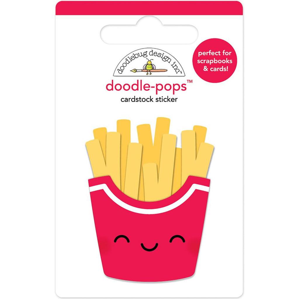 Doodlebug - Doodle-Pops 3D Stickers - Fry Day (DP6041)