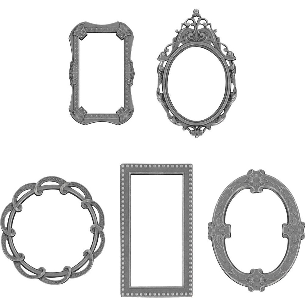 Tim Holtz - Idea-Ology - Metal Deco Frames 5/Pkg ( TH93792)