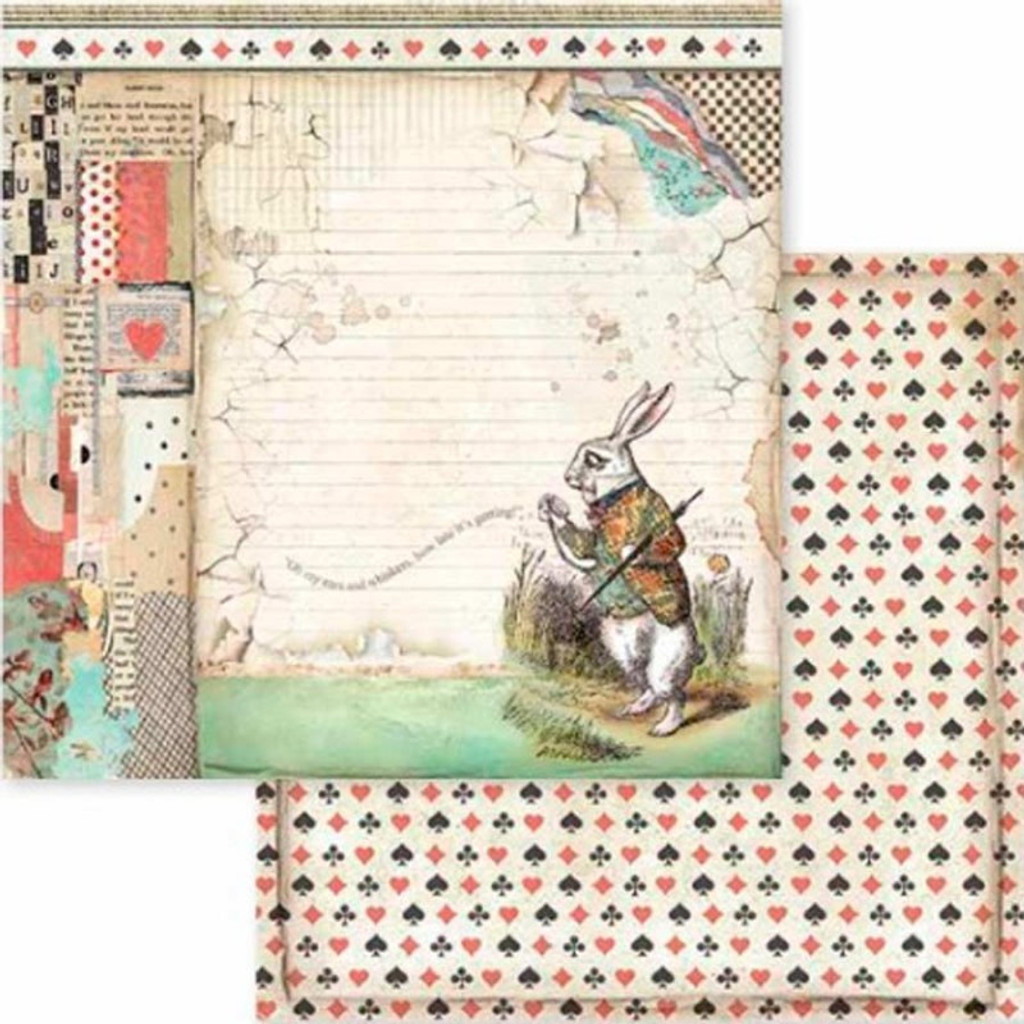 Stamperia - Scrapbooking 12 x 12 Collection Pack - Alice (SBBL52)