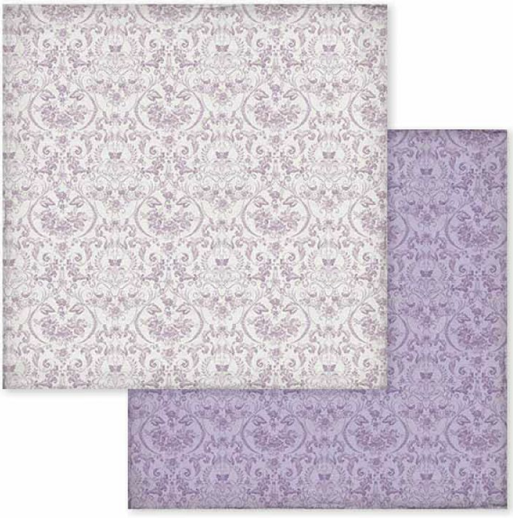 Stamperia - Double-Sided Cardstock 12x12 - Provence - Texture Wallpaper (559982)