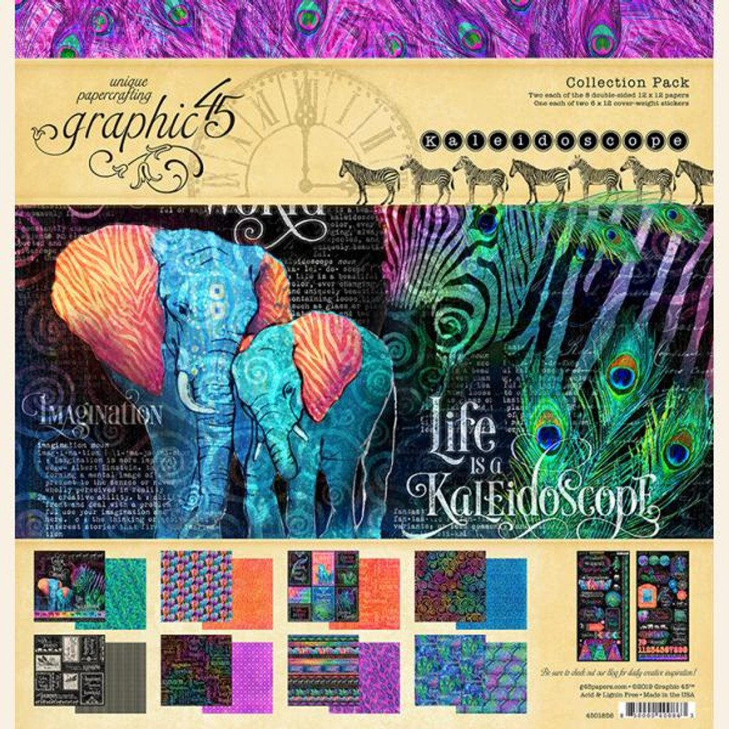 "Graphic 45 - Collection Pack 12""X12"" - Kaleidoscope (G4501856)"