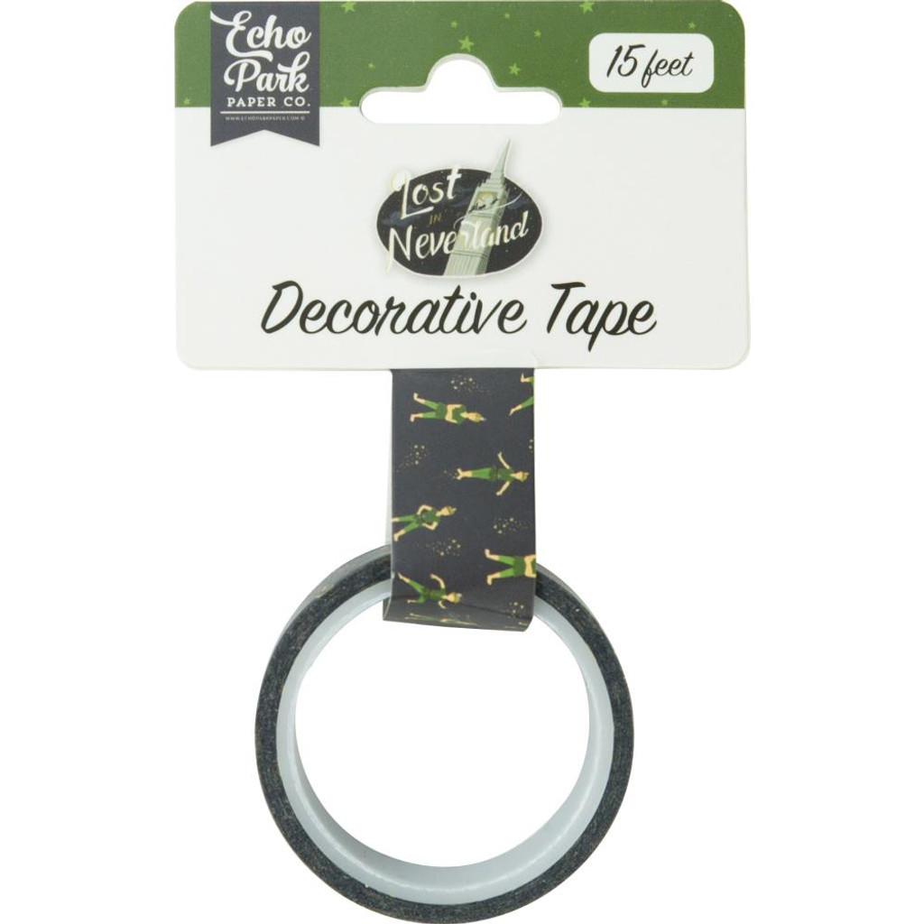 Echo Park - Decorative Washi Tape - Lost In Neverland - Peter Pan (LIN179037)