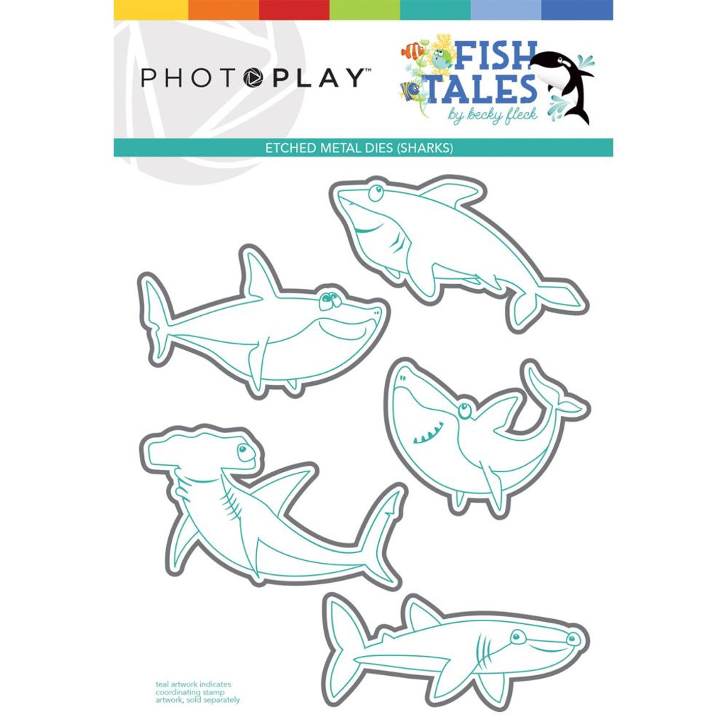 Photoplay - Etched Die-Cut - Fish Tales (FTS9314)