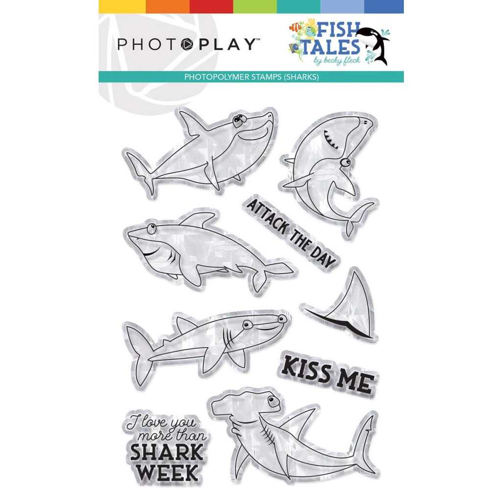 Photoplay - Clear Stamp Set - Fish Tales (FTS9313)