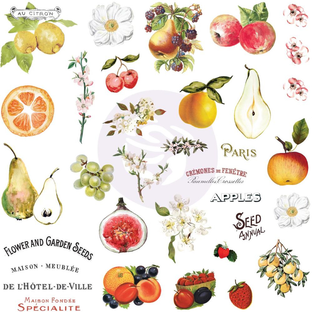 Prima - Ephemera with Stickers - Fruit Paradise (638429)