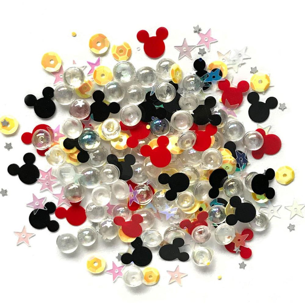 28 Lilac Lane / Buttons Galore : Sparkletz Embellishment Pack 10g - Magical (SPK - 137)