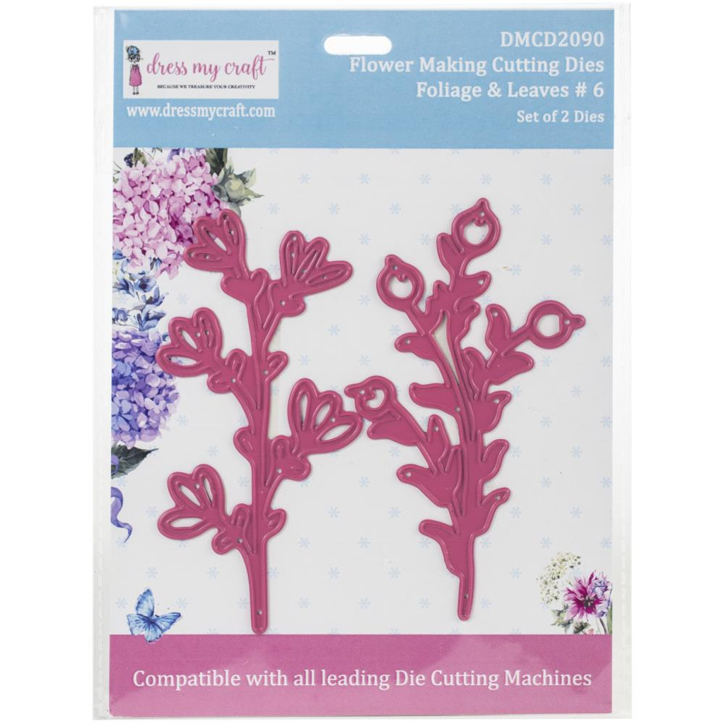 Dress My Crafts - Flower Making - Foliage & Leaves #6 (DMCD2090)