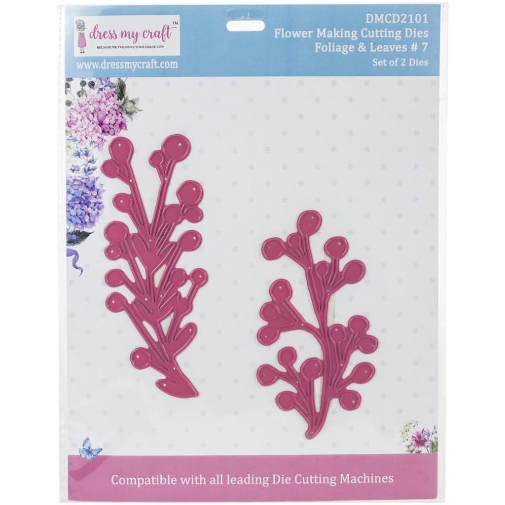 Dress My Crafts - Flower Making - Foliage & Leaves #7 (DMCD2101)