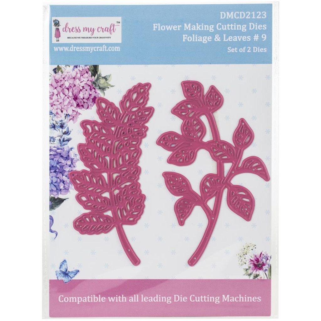 Dress My Crafts - Flower Making - Foliage & Leaves #9 (DMCD2123)