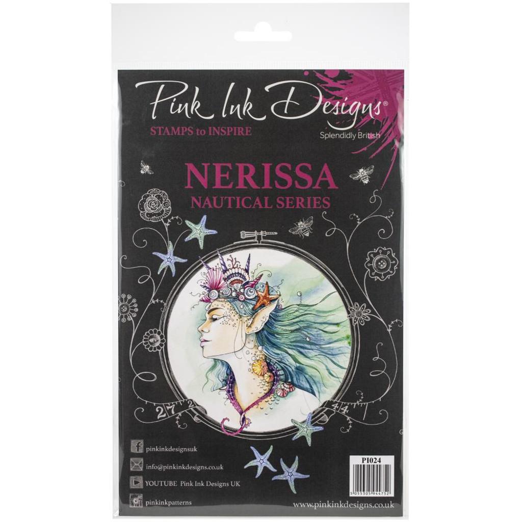 Pink Ink Designs - A5 Clear Stamp Set - Nerissa (PI024)