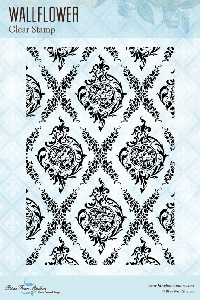 Blue Fern Studios - Clear Stamp - Wallflower (121173)