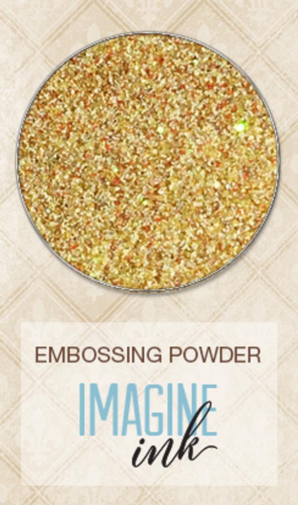 Blue Fern Studios - Imagine Ink Embossing Powder - Radiance - Sunbeam