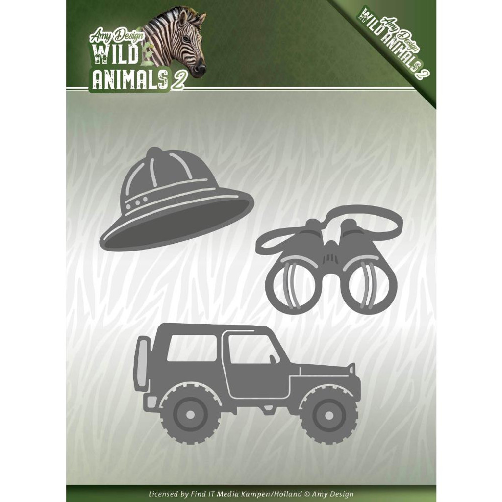 Find It Trading - Amy Design - Wild Animals 2 Die - On A Safari (ADD10176)