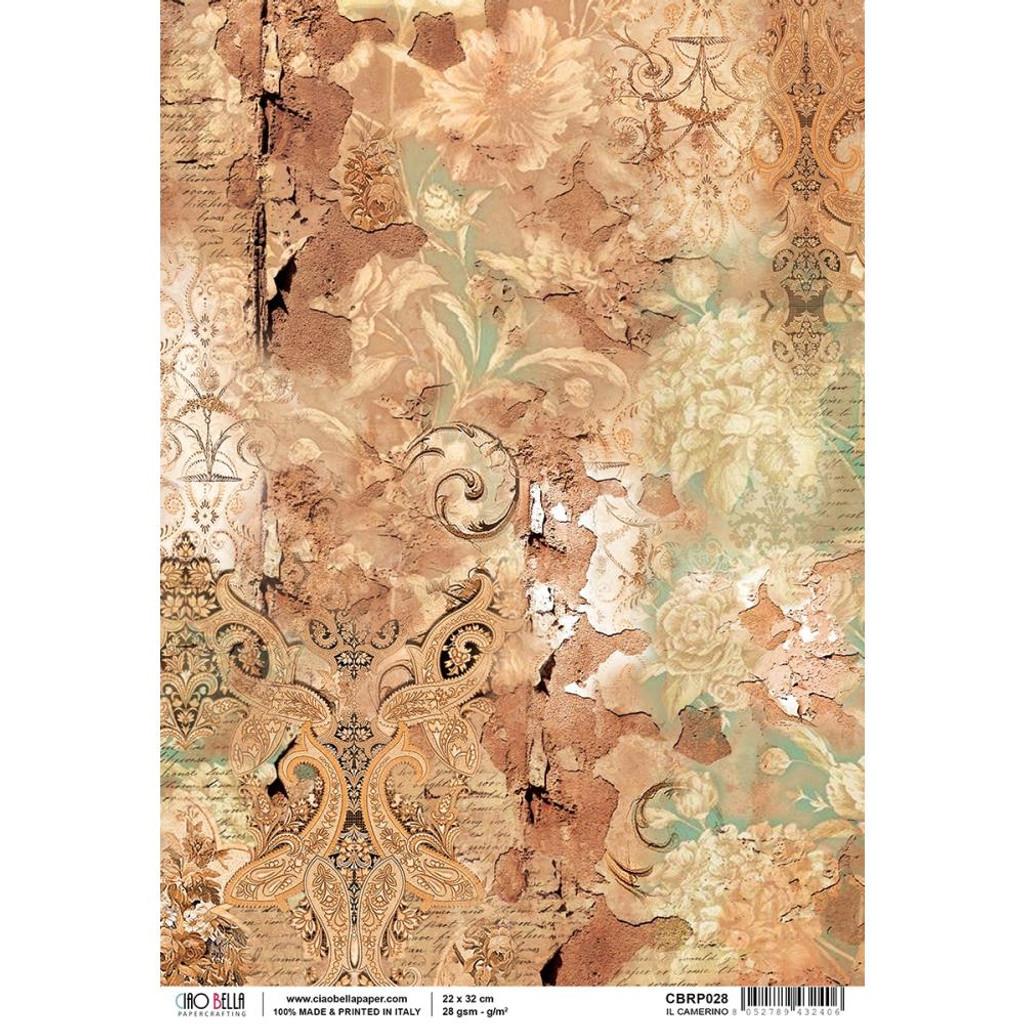 Ciao Bella - Decoupage Rice Paper Sheet - La Traviata Collection - Il Camerino (CBRP028)