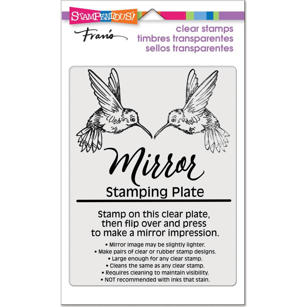 """Stampendous - Mirror Stamping Plate 4""""X5.5"""" (SSC1330)"""
