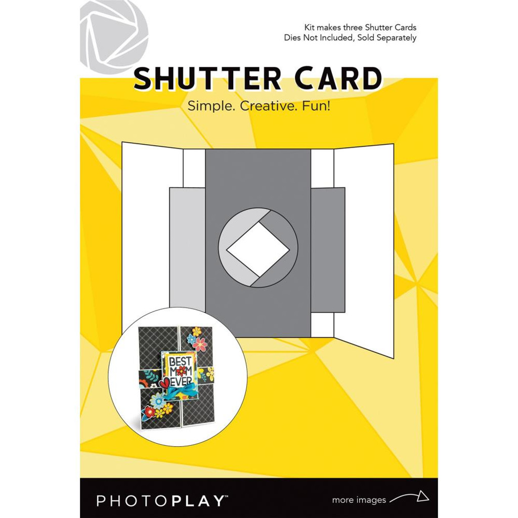 Photoplay - Makers Series - Shutter Card 3/Pkg - (PPP9457)