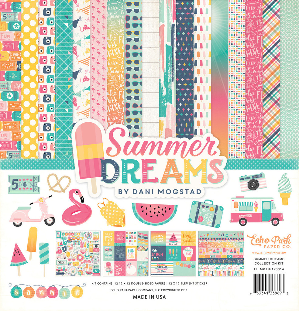 Echo Park- 12x12 Collection Kit - Summer Dreams (DR126016)