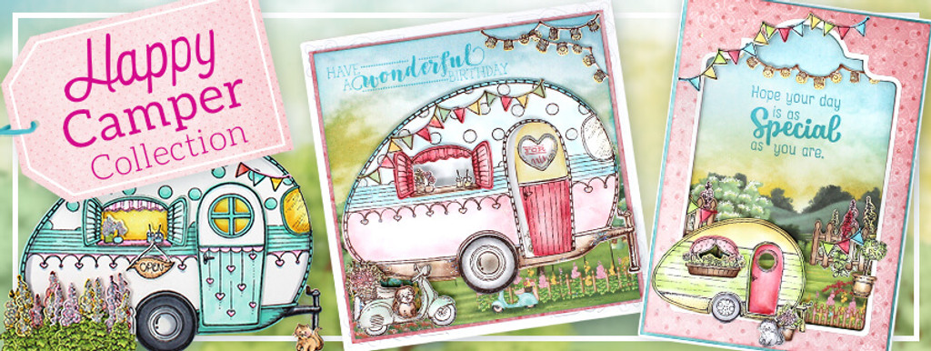 Heartfelt Creations - I WANT IT ALL- Happy Camper Collection (IWIA1111) - Samples