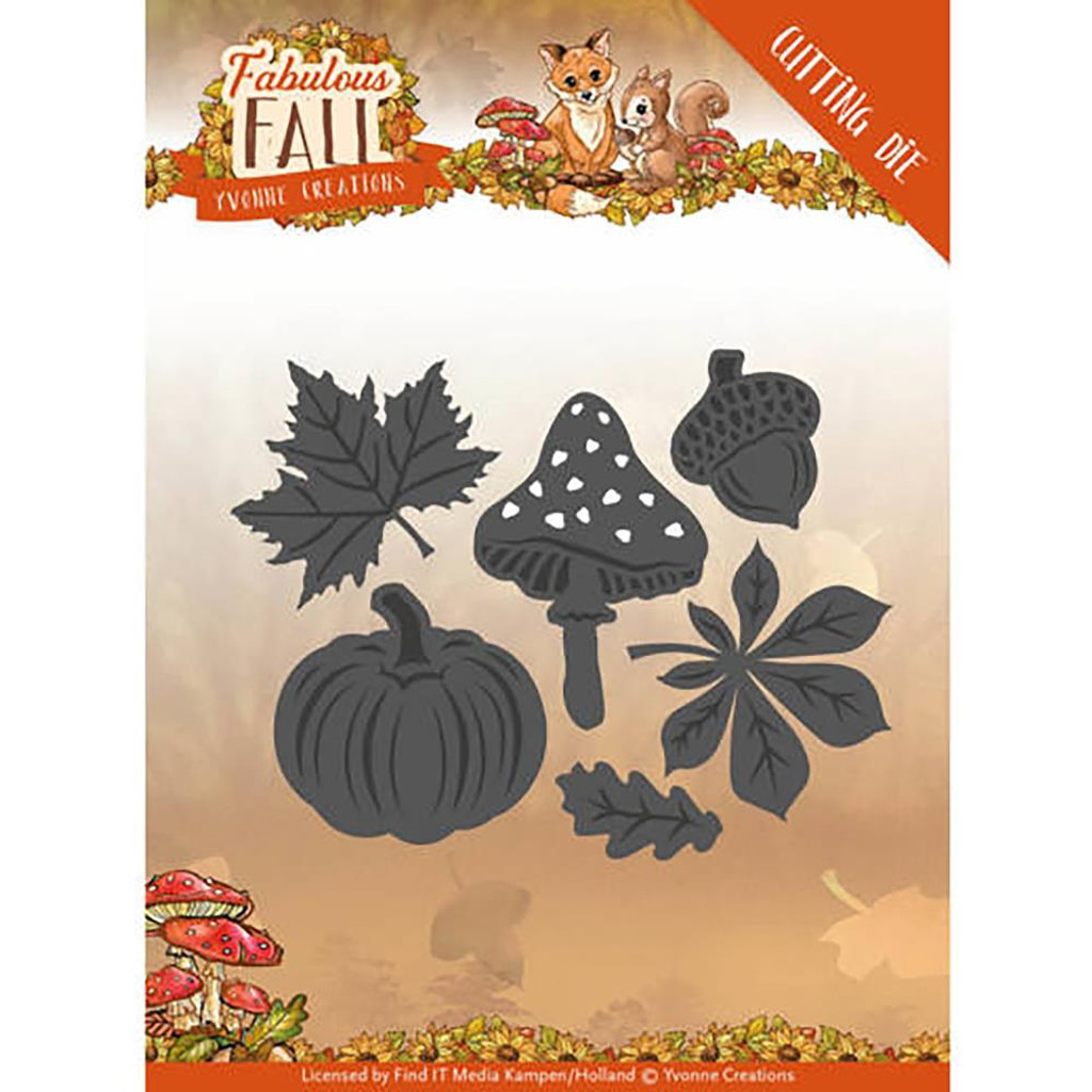 Find It Trading - Yvonne Creations - Fabulous Fall - Autumn Leaves (YCD10149)