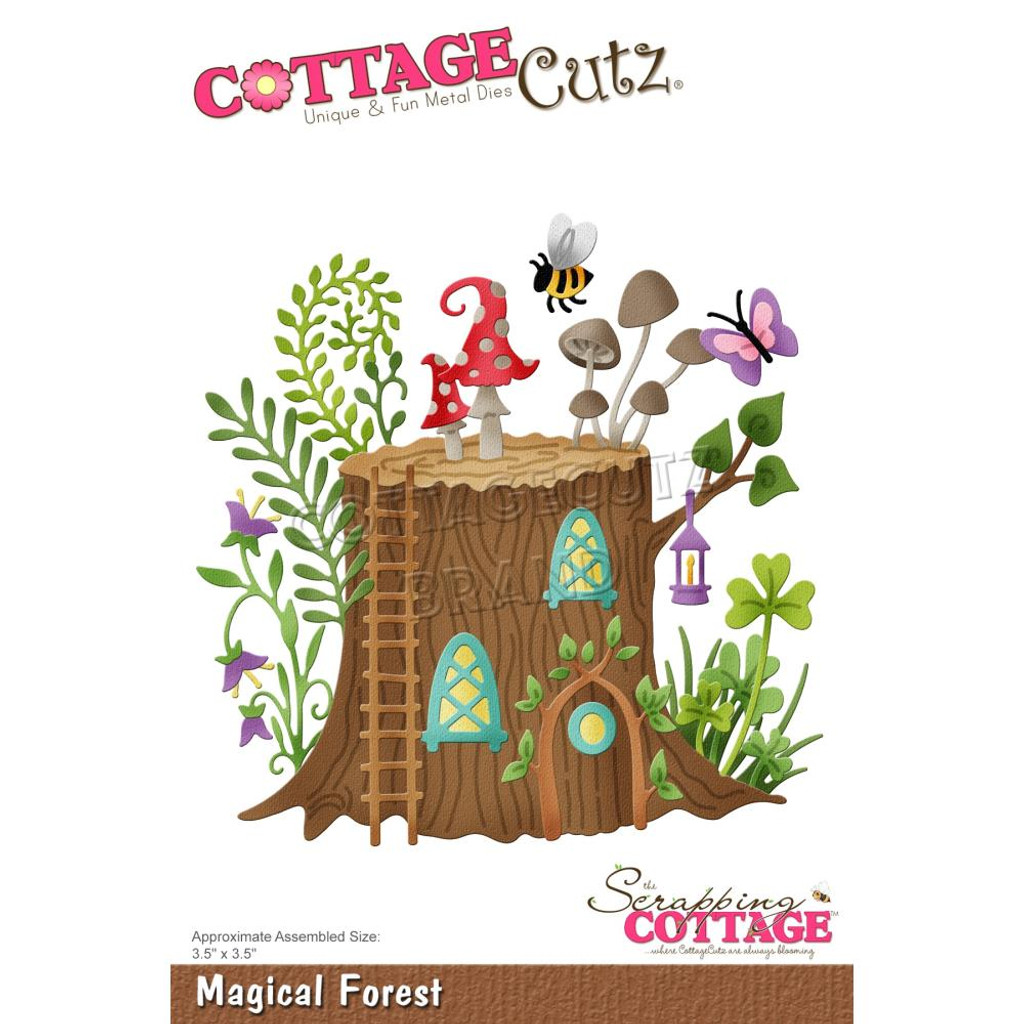 Cottage Cutz - Magical Garden - Magical Forest (CC626)