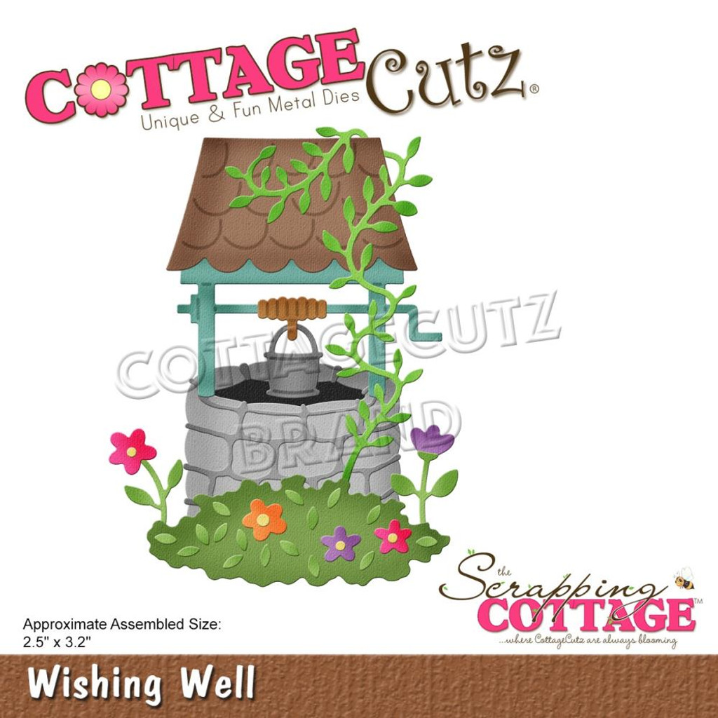 Cottage Cutz - Magical Garden - Wishing Well (CC634)