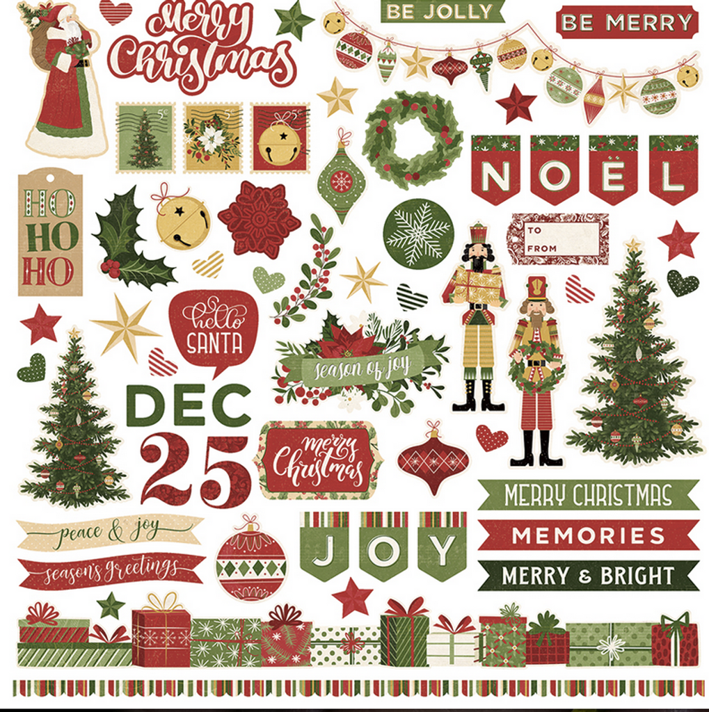 """Photo Play - Collection Paper Pack 12""""X12"""" - Christmas Memories"""