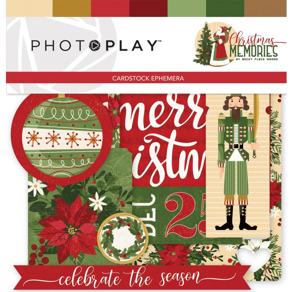 Photo Play - Ephemera Pack - Christmas Memories (CMR9492)