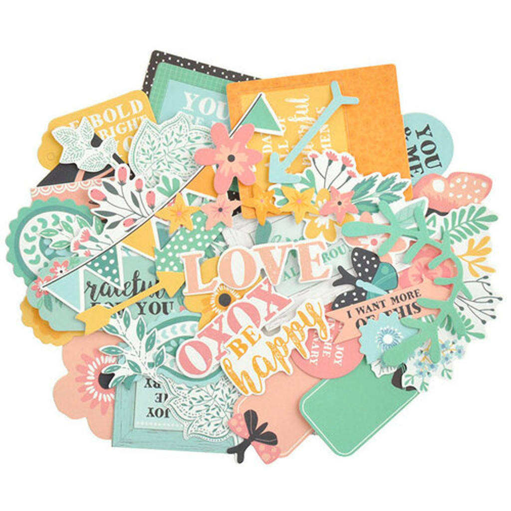 Kaisercraft - Bundle - Paisley Days - Die Cuts
